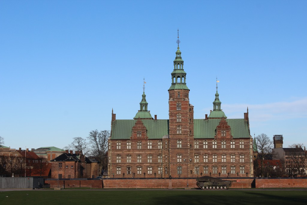 Rosenborg Castle built 1630-35 by King Christian 4 (!588-1648), king of denmark and Norway. Photo 5. february 2018 by Erik K Abrahamsen.