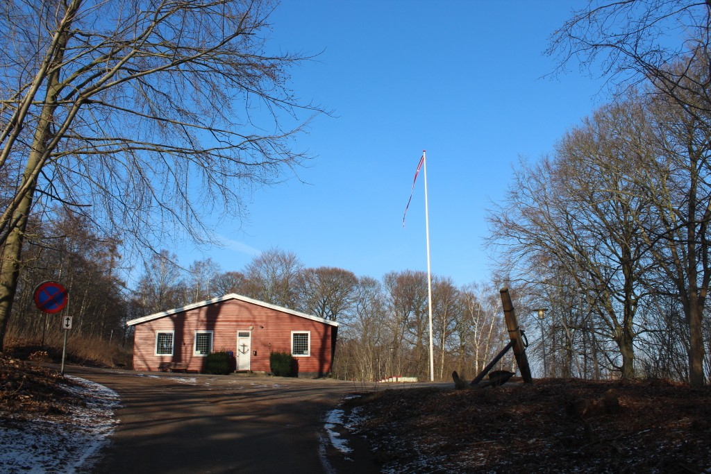 Barrack and Ancher of former Danish Naval Drill School until 1958. Photo 9. february 2018 by erik K Abrahamsen.
