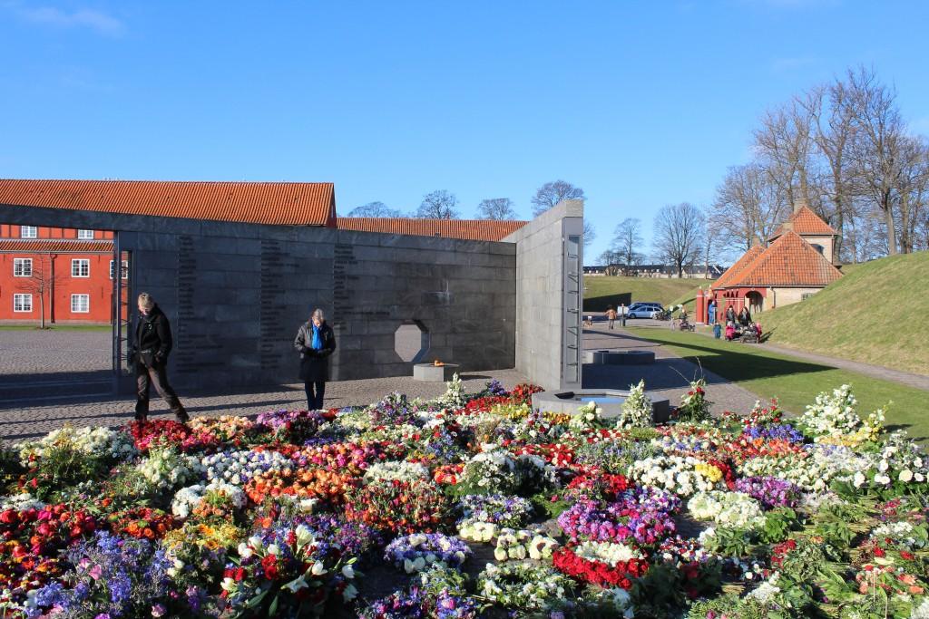Det nationale Monument i Kastellet. RUM ET STED. Foto den 22. februar 2018