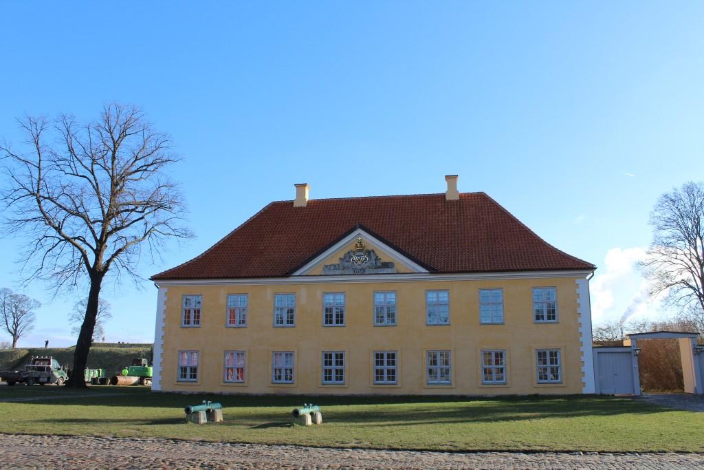 Kastellet. Kommandant bygningen opført 1724. Foto den 22. februar 2018 af erik K Abrahamsen