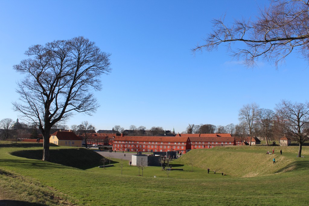 Kastellet. Udsigt Det Nationale Monument