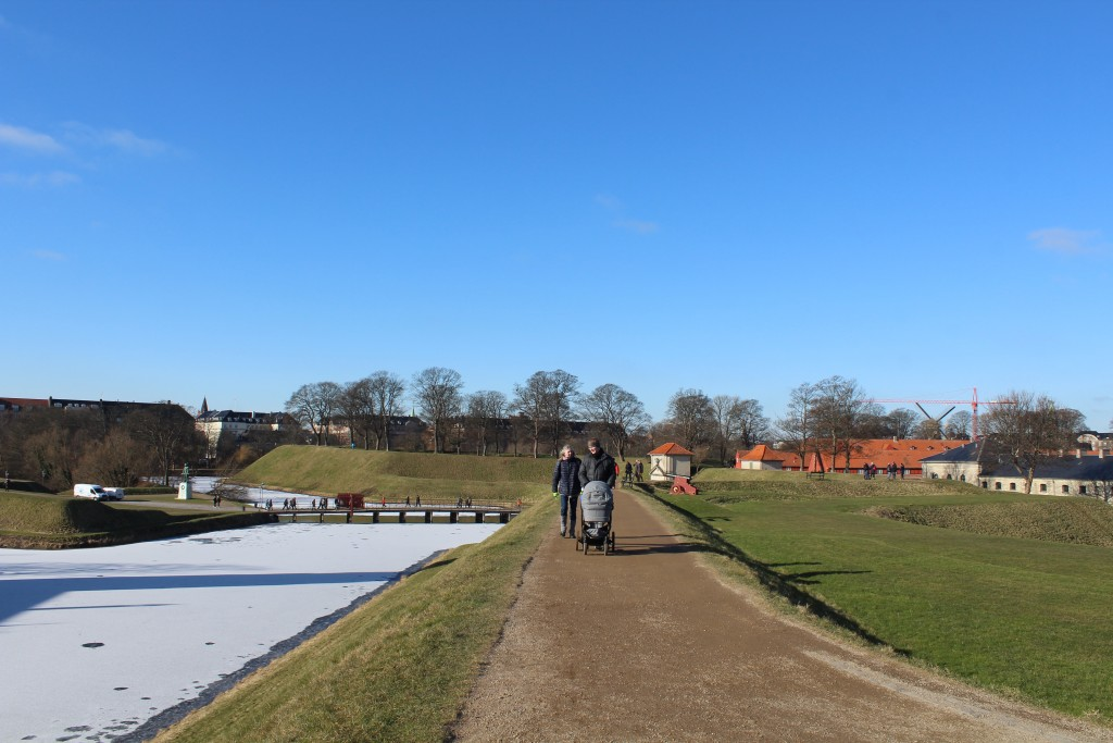 Fortress Kastellet.View from Bastion