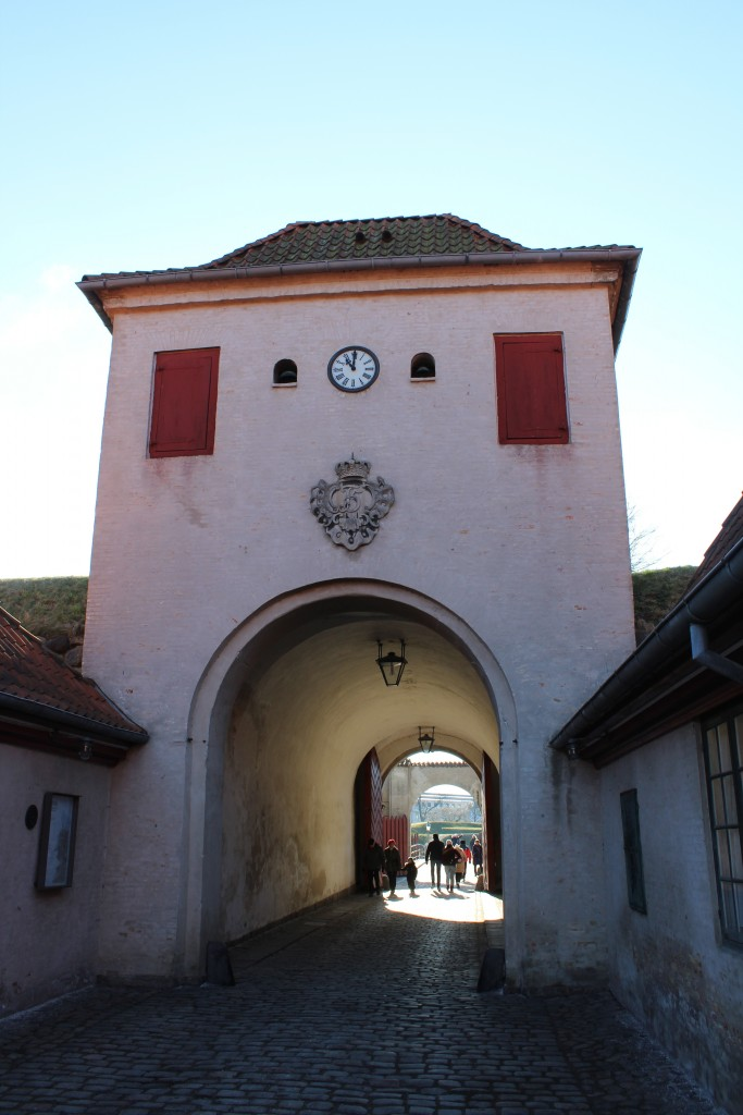 "Fortress Kastellet. Main entrance ""KOngeporten"""