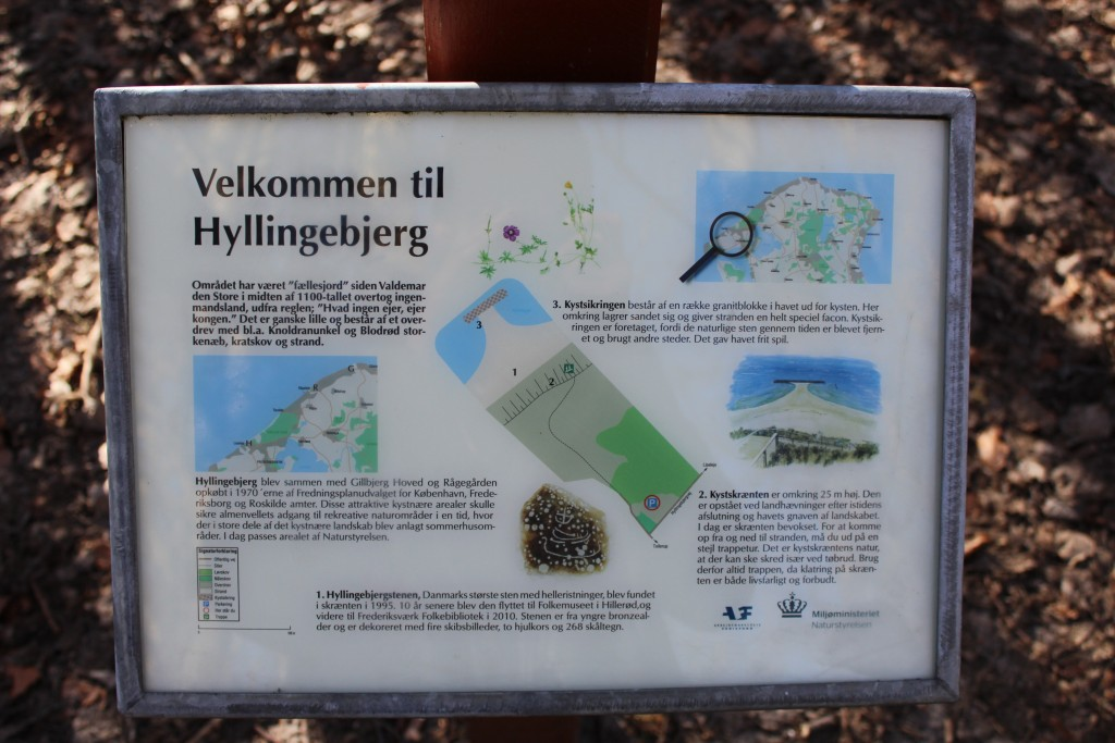 Kort ve Hyllingebjerg som ligger 1-2 km vest får Liseleje i Nordsjælland. Foto den 18. marts 2018 af Erik K Abrahamse.