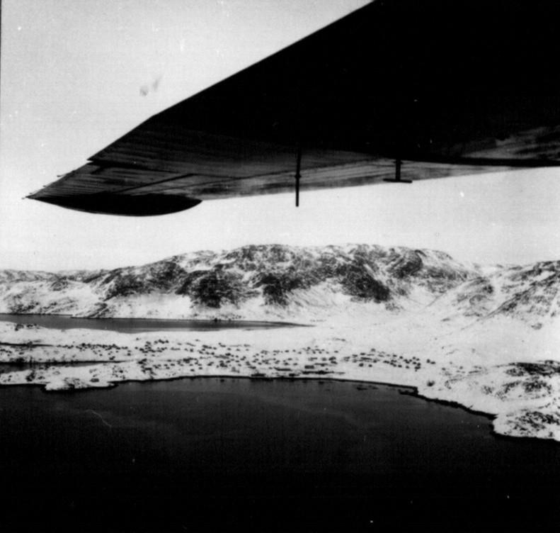 Flyvning med Catalina fra Narssarsuaq til Flådestation Grønnedal