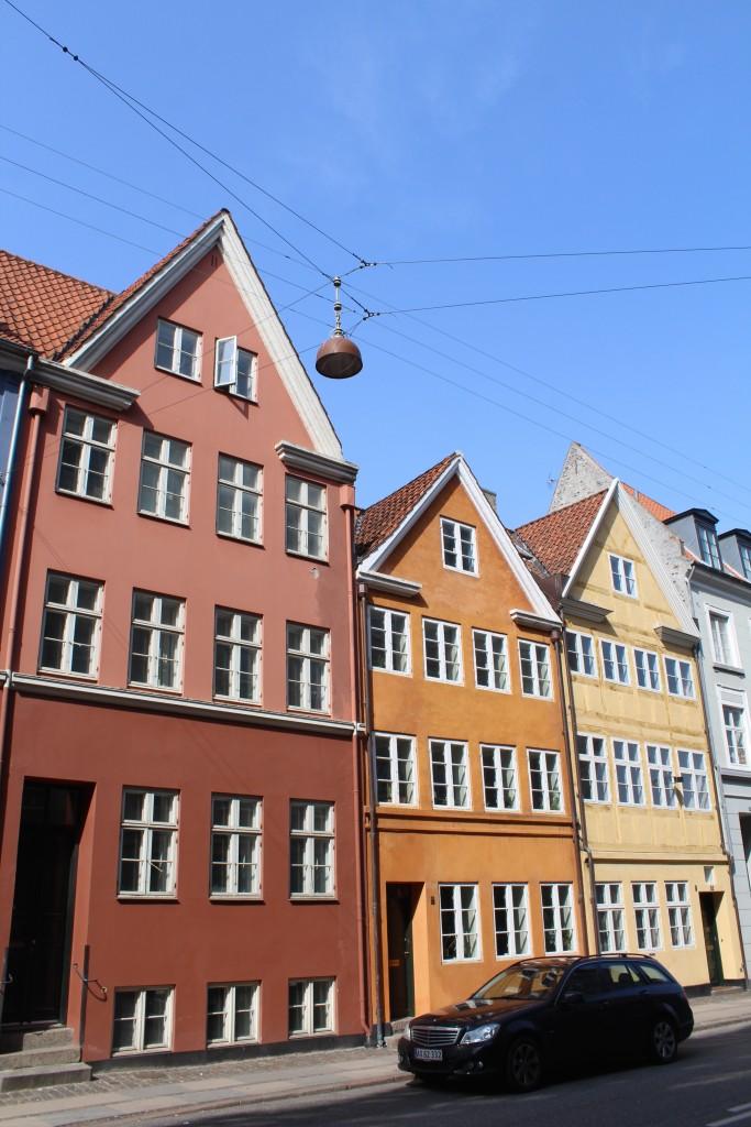 Landemærket nr. 51-55. Houses rebuilt after the big Copenhagen Fire 1728.