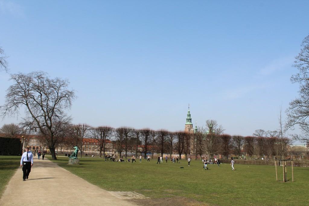 Kings Garden and Rosenborg Castle built 1635. Photo 9. april 2918 by Erik K Abrahamsen
