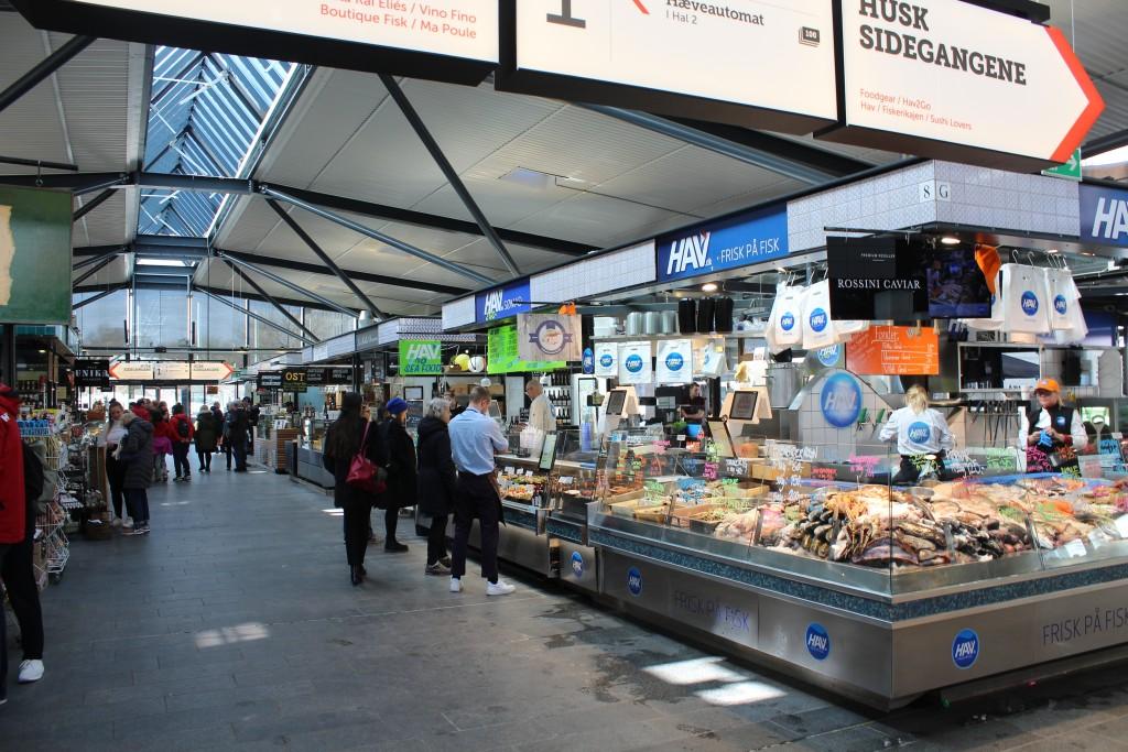 Israel Plads. Market Pavillion.