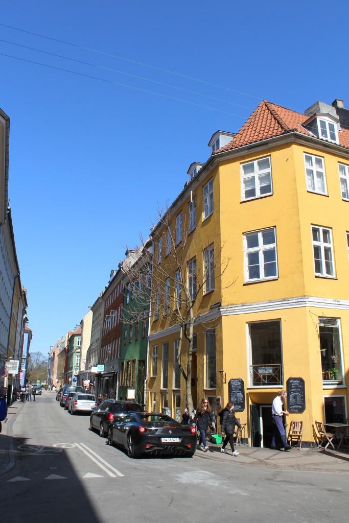 Latin Quarter. Corner of Larsbjørnestræde and Studiestræde. Phoot 11. april 2918 by erik K Abrahamsen.