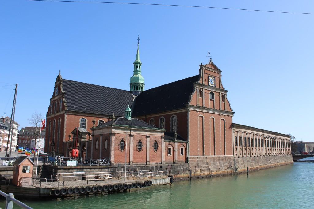 Holmens Church built 1617-20. Photo 11. april 2018 by Erik K Abrahamsen.