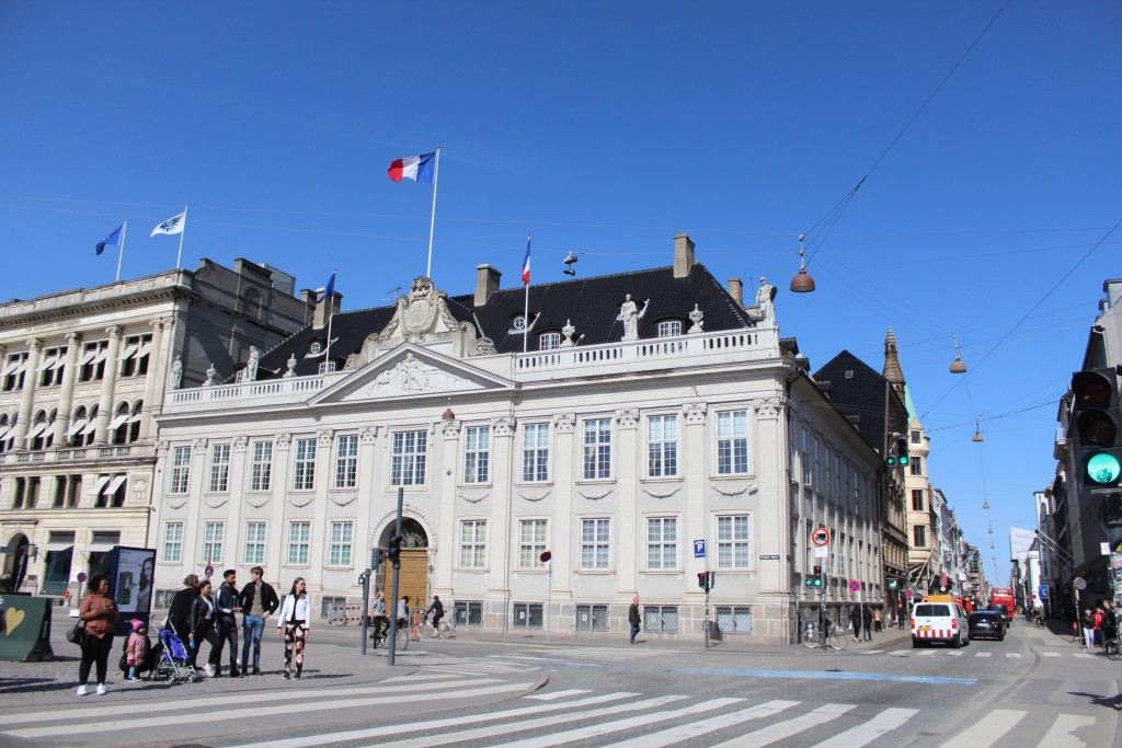 Kongens Nytorv. Den Franske Ambassade. Photo 11. april 2018 by erik K Abrahamsen.