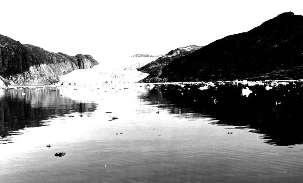 Arsuk Isbræ. Foto 1961.