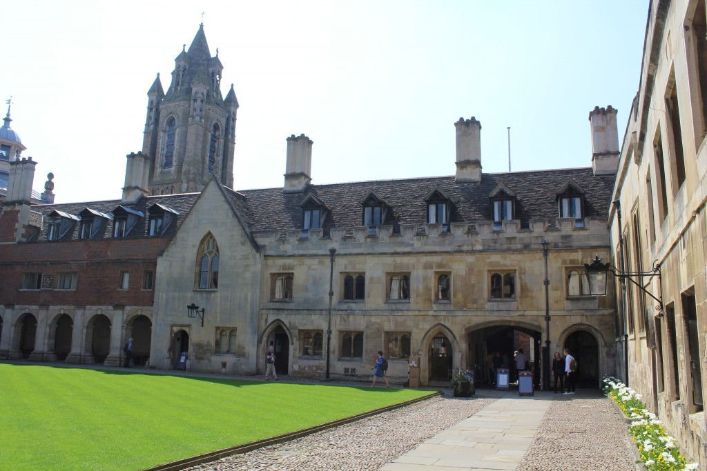 Pembroke College founded 1347. Phot 20. april 2018 by Erik K Abrahamsen.