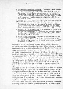 Mit brev af 3. august 1976 til Regering og Folketing m. fl.