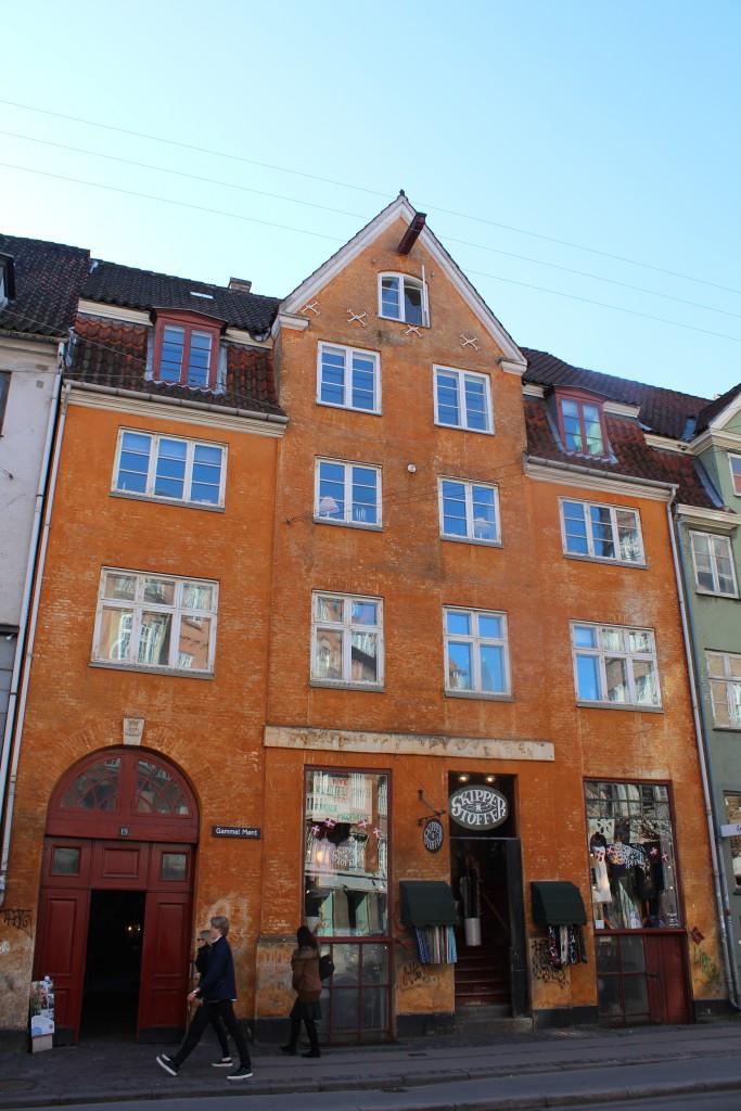 Ganmmel Mønt nr. 19 opført mellem 1729-38. Foto den 12. marts 2015 af Erik K Abrahamsen