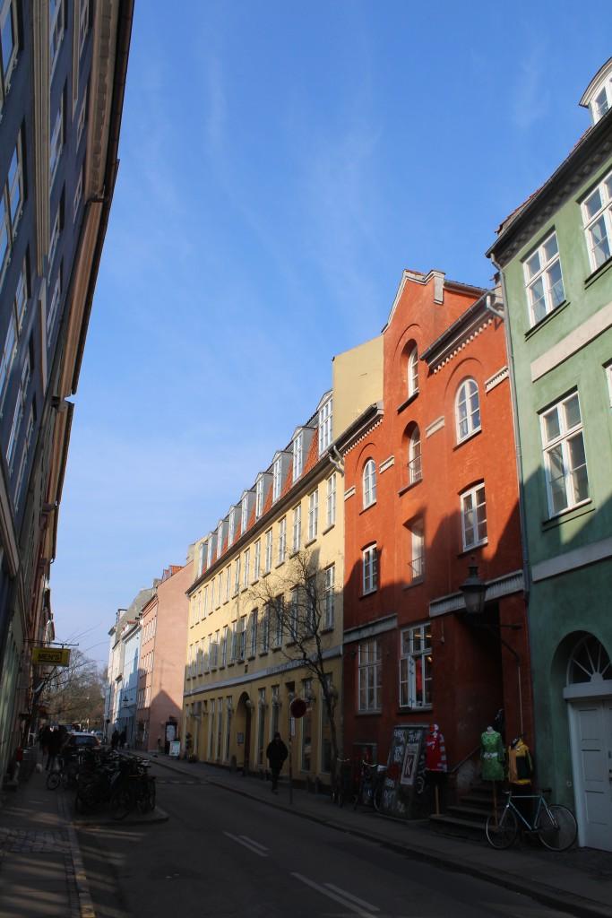 Teglgårdsstræde i Københavns latinerkvarter. Fot den 16. marts 2015 af Erik K Abrahamsen