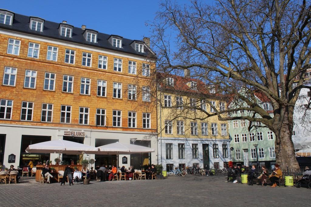 Gråbrødretor. cafe og restaurant. Foto den 16. marts 2015 af Erik K Abrahamsen