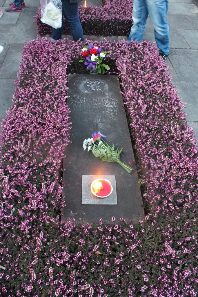 Store Gravfelt med grave for modstansfolk, som 1940-45 blev henrettet af tyske soldater ved skydning på Henrettelkse i Ryvangen. Foto den 4. maj 2015 af Erik K SAbrahamsen