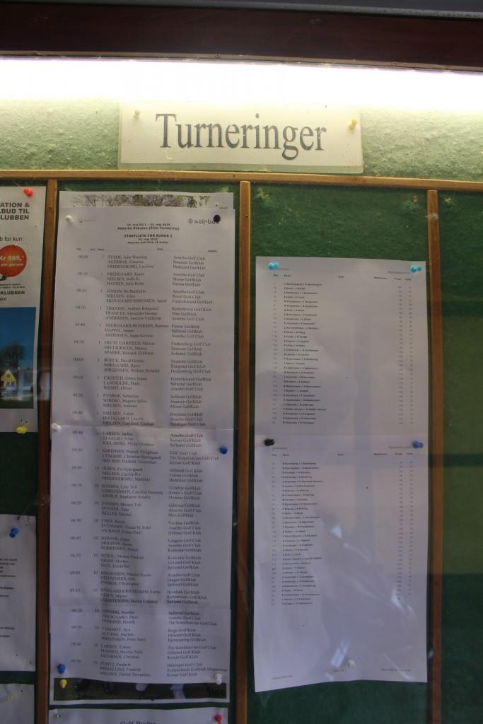 Asserbo Pokalen - Elite golf turnering over 54 hullers slagspil over 2 dage søndag den 24. maj og mandag den 25. maj 2015. Foto Opslagstavlen I