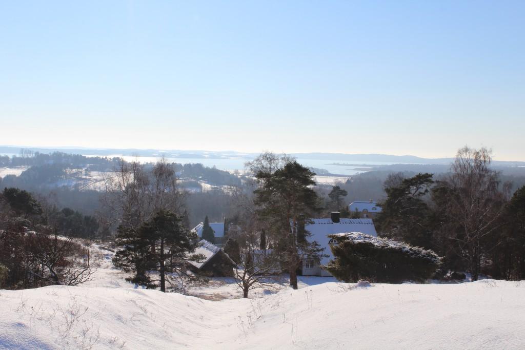 "Tibirke Hills. Viewpoint ""Udsigten"". View in direction west to Arrsoe Lake. Photo 5. bebruary 2015 2015 by Erik K Abrahamsen."