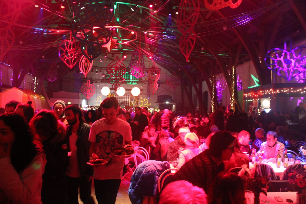 Christmas banquet 2015 in Grey Hall, Christiania. Phpto