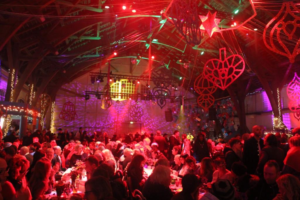 Christmas banquet 2015 inGrey Hall, Christiania, Copenhagen. Pho