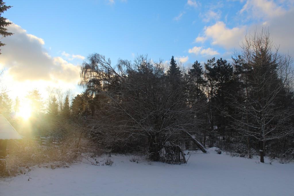 Sunrise - sunday morning 17. januar