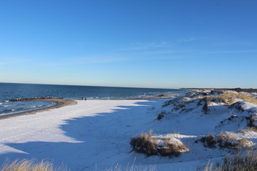 Liseleje Beach at Kattegat Coast