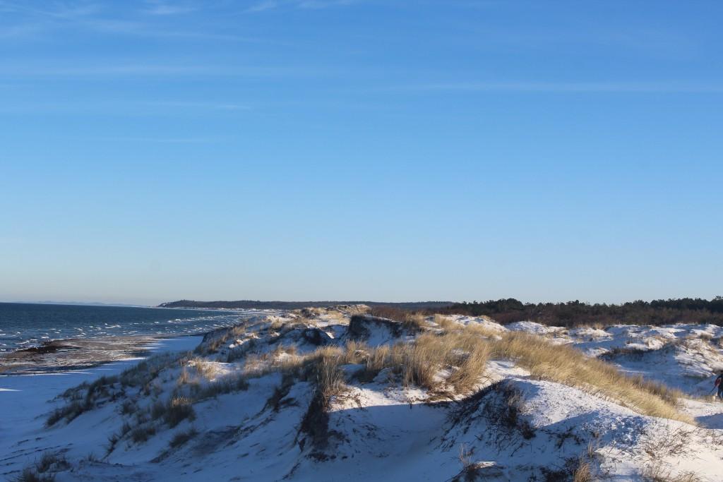 Liseleje Beach at Kattegat Coast. Vi