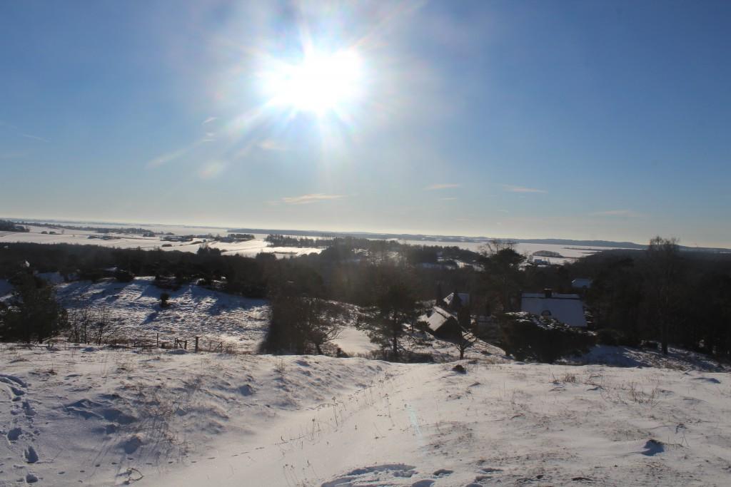 Udsigten, Tibirke Bakker. View in direction south