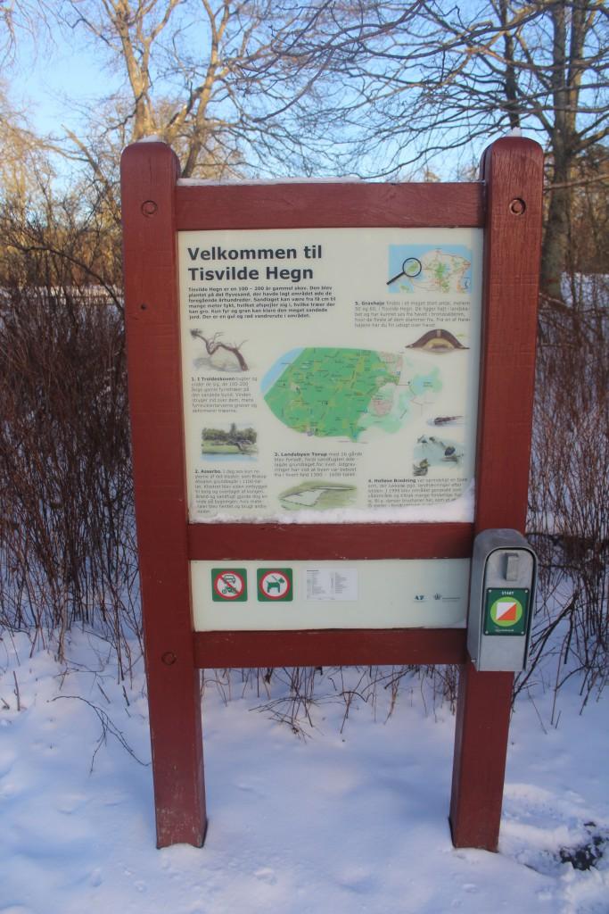 Map of Tisvilde Forest /Tis