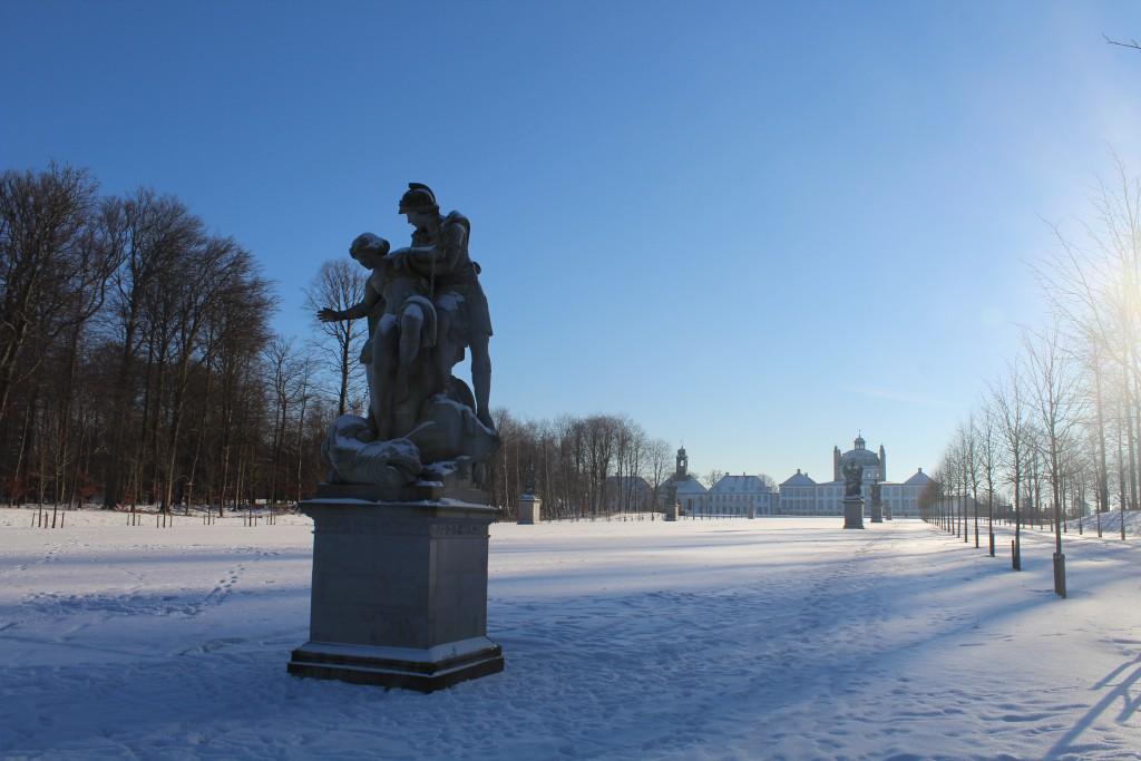 """Sculptor by Wiedewlt in """"Brede Allé"""". View"""