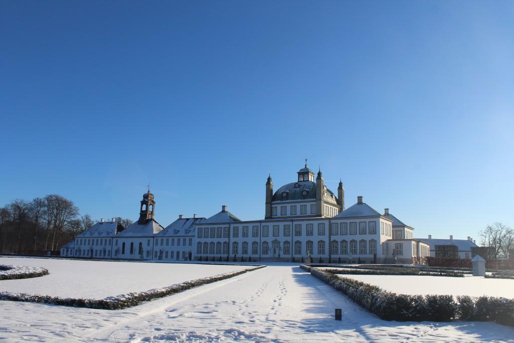 Fredensborg Castle and Barocqe Garden. Photo 22. january 2016 by erik K Abrahamsen