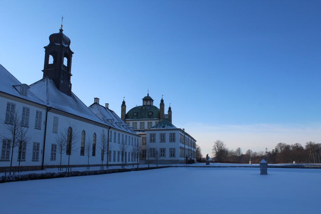 Fredenborg Castle Baroque Garden. Photo in direc22. january 2016 by erik K Abrahamsen