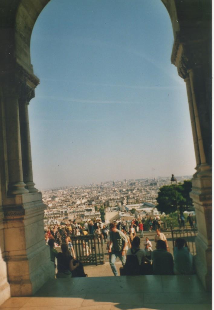 View from Cacré-Cæur Church, Montmartre