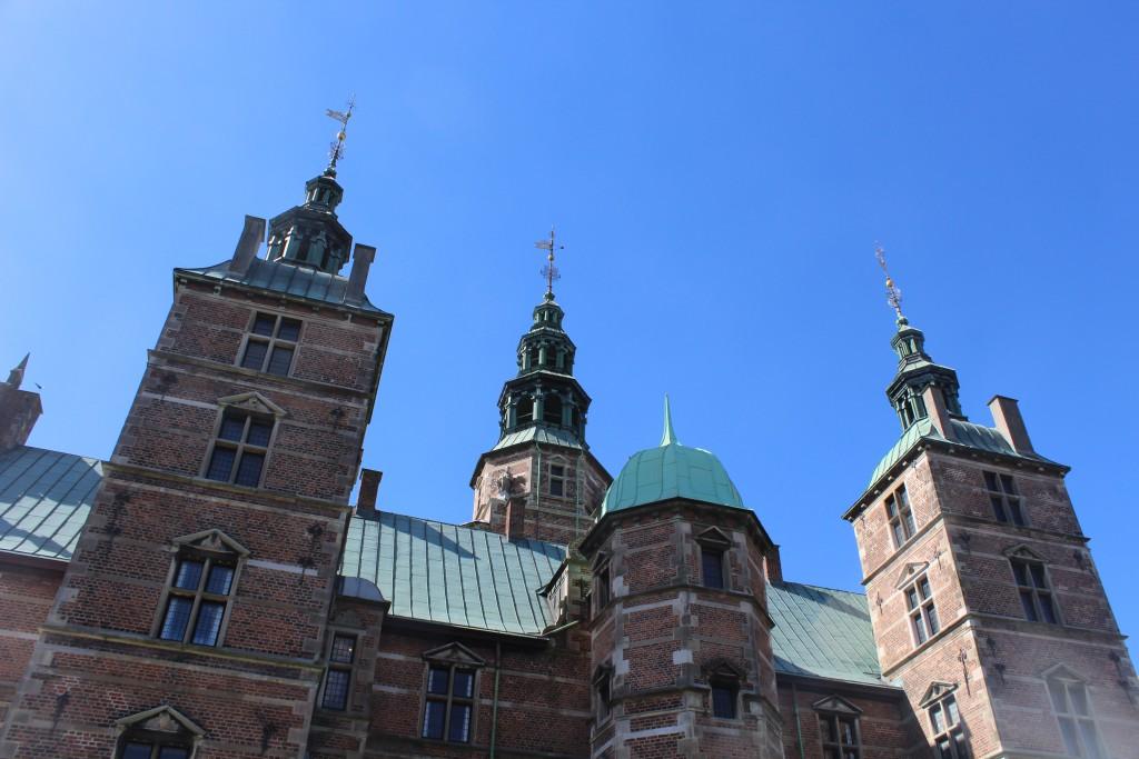 Rosenborg Castle builded 1606-38 by King Christia 4