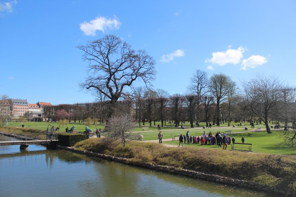 Kinga Garden viewed from bast