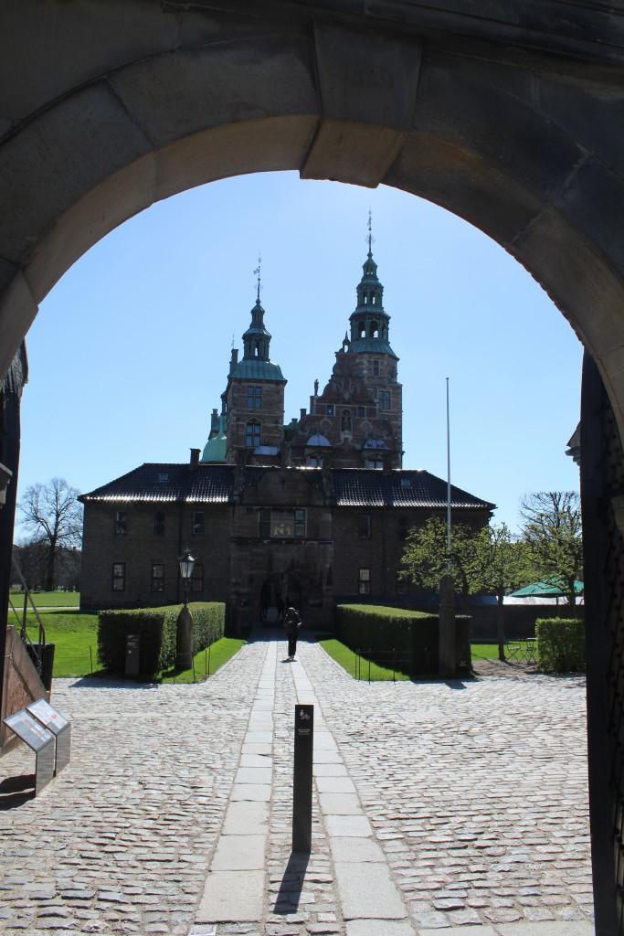 Rosenborg Castle builded 16