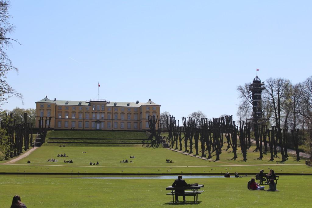Frederiksberg Castle in style it alien new-classism style build