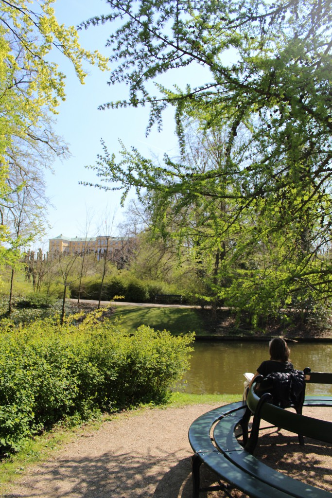 View to Frederiksberg Castle and the romantic canals. Photo 2. may 2016 by Erik K Abrahamsen.