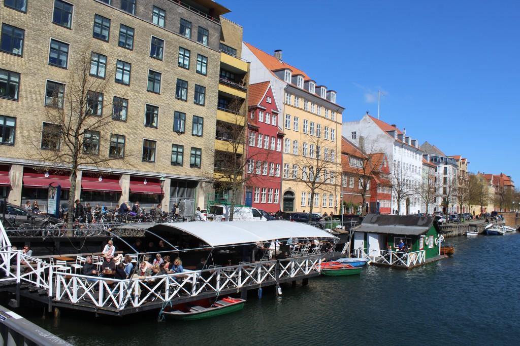"Christianshavn Canal. Voew in direction east from ""Torvegade Bridge"". Photo 4. may 2016 by Erik K Abrahamsen."