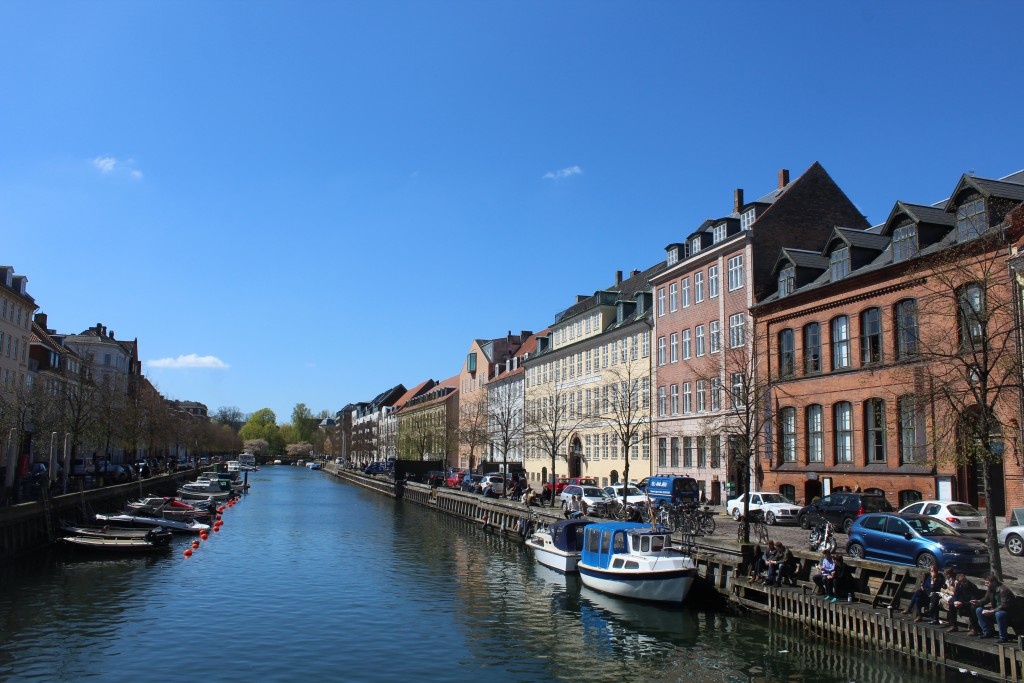 Christianshavn Canal. View from Torvegade in direction west to Christianshavn Canal. Photo 4. may 2016 by Erik K Abrahamsen.