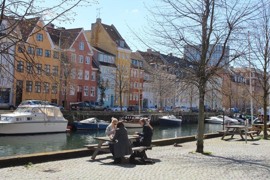 "Christianshavn Canal. View in direction to south side street ""Overgaden neden Vandet"". Photo 4. may 2016 by Erik K Abra"