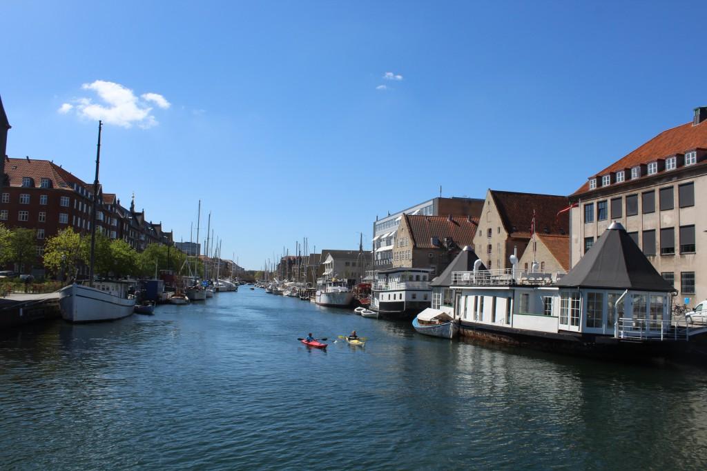 Christianshavn, Copenhagen. View in direction west to Christianshavn Canal. Photo 4. may 2016 by Erik K Abrahamsen.