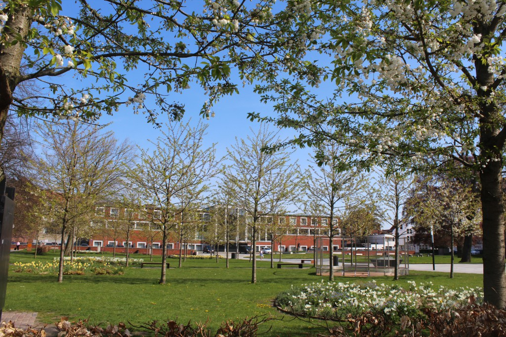 Aarhus Public Library and Park. Photo 7. may 2016 by Erik K Abrahamsen