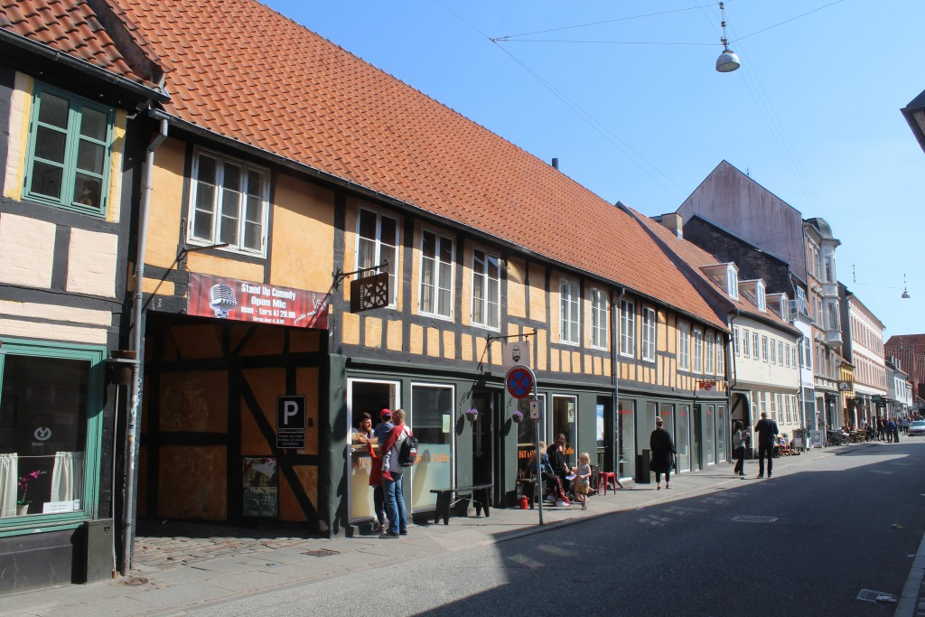 Århus City - Vesterdade 58. View in direction set. Photo 7. may 2016 by Erik K
