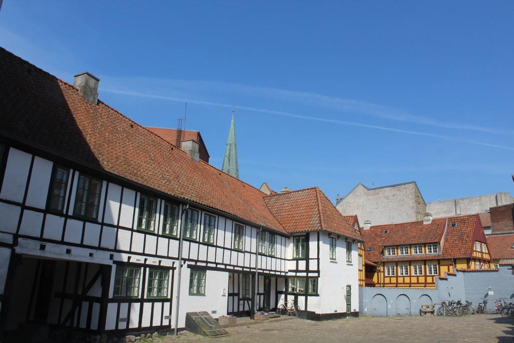 Skolegade in Aarhus City. Insid