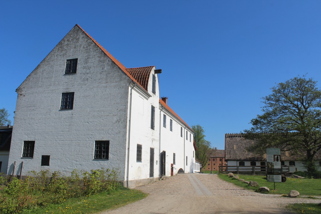 Esrum Møllegård - Esrum Water Mill and farm.