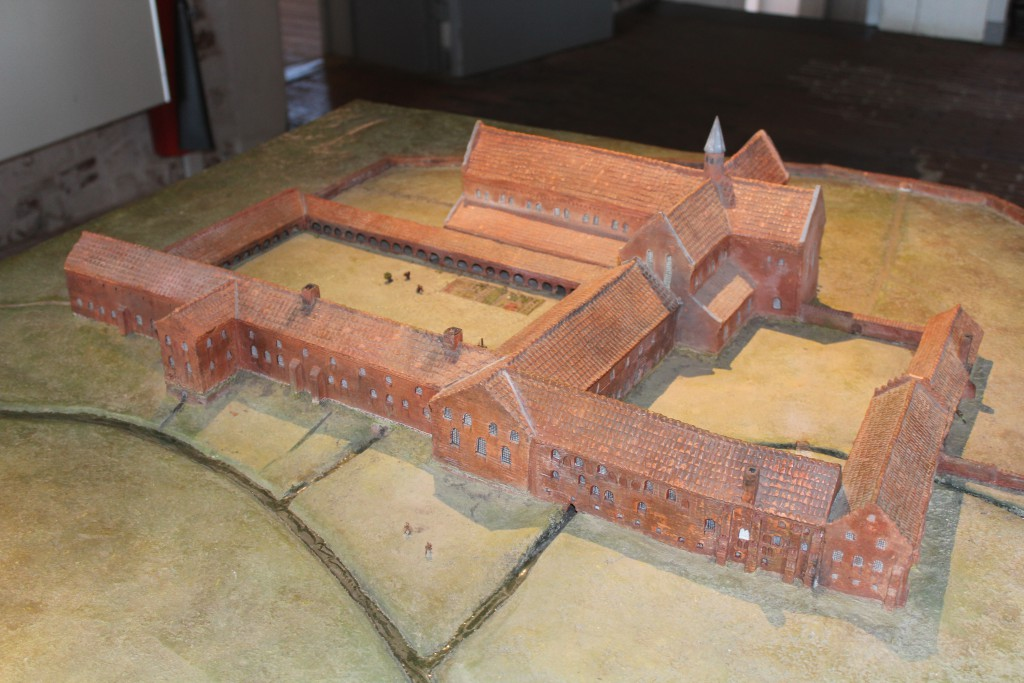 Model of Esrum Monastery.