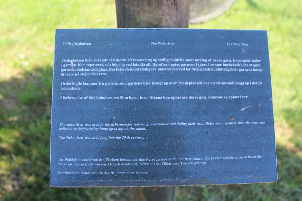Plate on The Stake Area. Photo 27. may 2016 by Erik K Abrahamsen.